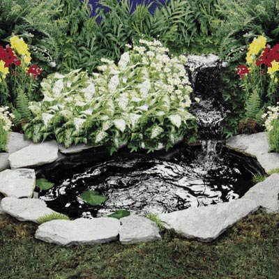 cascade and pond kit 200 gph 110 volt koi water peace