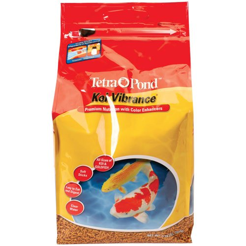 TetraPond 16486 Koi Vibrance Sticks Floating Fish Food