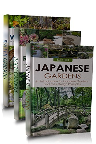 Gardening box set 2 japanese gardens japanese garden for Garden pond design books